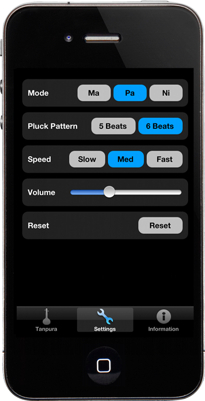 RealTanpura Settings Tab